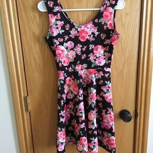 Derek Heart Dresses - Rose Print Dress